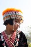 Portret wzgórza plemienia dzieci Obraz Royalty Free