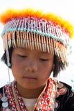 Portret wzgórza plemienia dzieci Zdjęcie Stock