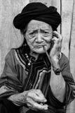 Portret wzgórza plemienia kobieta Obraz Stock