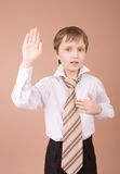 portret young biznesmena obraz stock