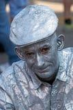 Portret żywa statua Obrazy Stock