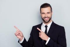 Portret zadowolony elegancki modny modny rozochocony ekscytuje zdjęcie stock