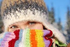 portret zima Zdjęcie Stock