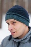 portret zima Zdjęcie Royalty Free