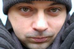 portret zimy. zdjęcia stock