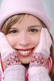 portret zimy. zdjęcia royalty free
