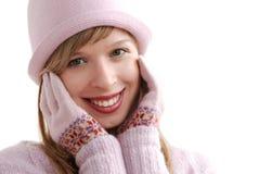 portret zimy. obrazy stock