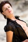 portret zmysłowa kobieta nago Zdjęcia Royalty Free