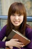 portreta żeński uczeń Zdjęcie Royalty Free
