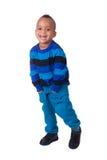 Portreta amerykanin afrykańskiego pochodzenia chłopiec Obrazy Royalty Free