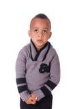Portreta amerykanin afrykańskiego pochodzenia chłopiec Fotografia Stock