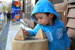 Portreta Asia chłopiec Obraz Stock