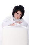portreta biel czysty pracowniany Fotografia Royalty Free