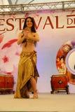 Portreta brzucha taniec Obraz Royalty Free