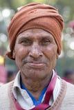 Portreta hindusa biedny człowiek delhi ind nowi Obraz Stock