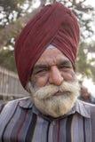 Portreta hindusa biedny człowiek delhi ind nowi Zdjęcia Royalty Free