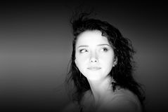 portreta kobiety potomstwa Fotografia Stock