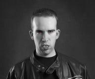portreta męski wampir Obraz Stock