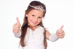 portreta mały princess fotografia royalty free