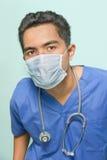 portreta maskowy chirurg Zdjęcie Royalty Free