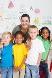 portreta preschool zdjęcie royalty free