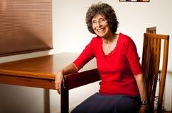 portreta seniora kobieta Zdjęcia Royalty Free