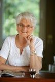 portreta seniora kobieta Obrazy Stock