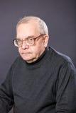 Portreta starszych osob mężczyzna Zdjęcie Stock