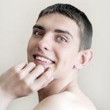 portreta szczęśliwy nastolatek Fotografia Royalty Free