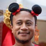 Portreta tajlandzki mężczyzna Bangkok, Tajlandia Zdjęcie Stock