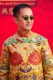 Portreta tajlandzki mężczyzna Bangkok, Tajlandia Obraz Royalty Free