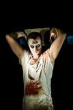 portreta zombi Fotografia Stock