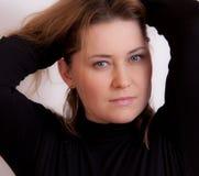 portretkvinna Royaltyfri Foto