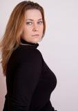 portretkvinna Arkivfoto