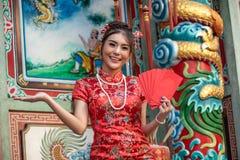 Portretten van een mooie Chinees stock foto's