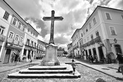 Portretten van het woord Bahia, Salvador royalty-vrije stock foto