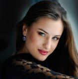 Portretvrouw Royalty-vrije Stock Fotografie