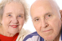 portretów seniorów Fotografia Stock