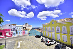 Portrety świat Miasto Penedo Brazylia fotografia royalty free
