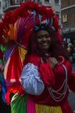Portrety od Uroczystej Karnawałowej parady 2016 w Madryt, Hiszpania Obraz Stock