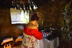 Portrety wiara Umbanda, Brazylia fotografia royalty free