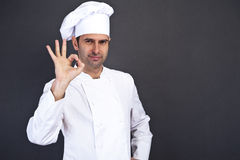 Portriat of the cook Stock Photography