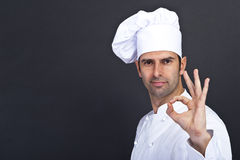 Portriat of the cook Royalty Free Stock Photos