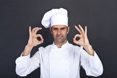 Portriat of the cook Stock Photo