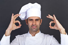 Portriat of the cook Royalty Free Stock Image