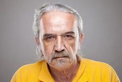 Portriat d'un homme plus âgé photographie stock