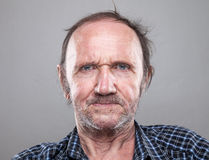 Portriat of an elderly man Royalty Free Stock Images