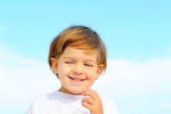 Portriat urocza mała dziewczynka Obraz Royalty Free
