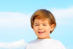 Portriat urocza mała dziewczynka Fotografia Royalty Free