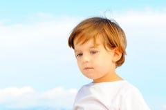 Portriat urocza mała dziewczynka Obrazy Royalty Free